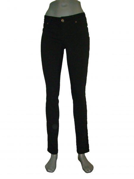 Штани жіночі, звужені, стрейчеві, чорні