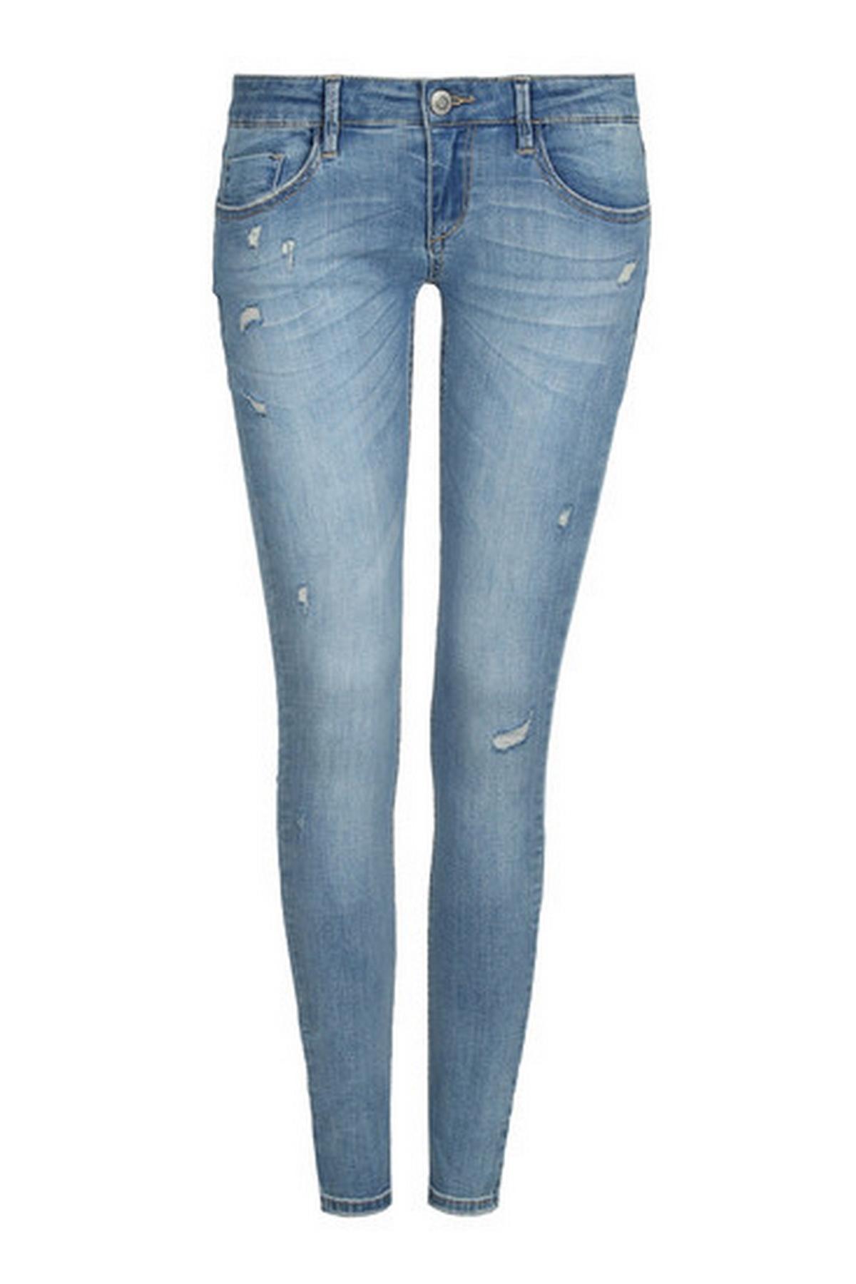Голубые джинсы доставка