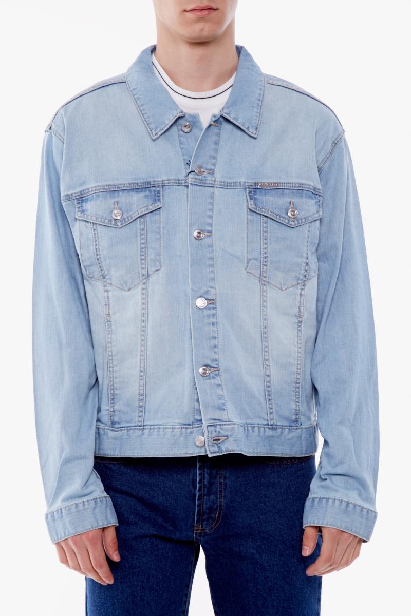 Легкая джинсовая куртка Montana с потертостями
