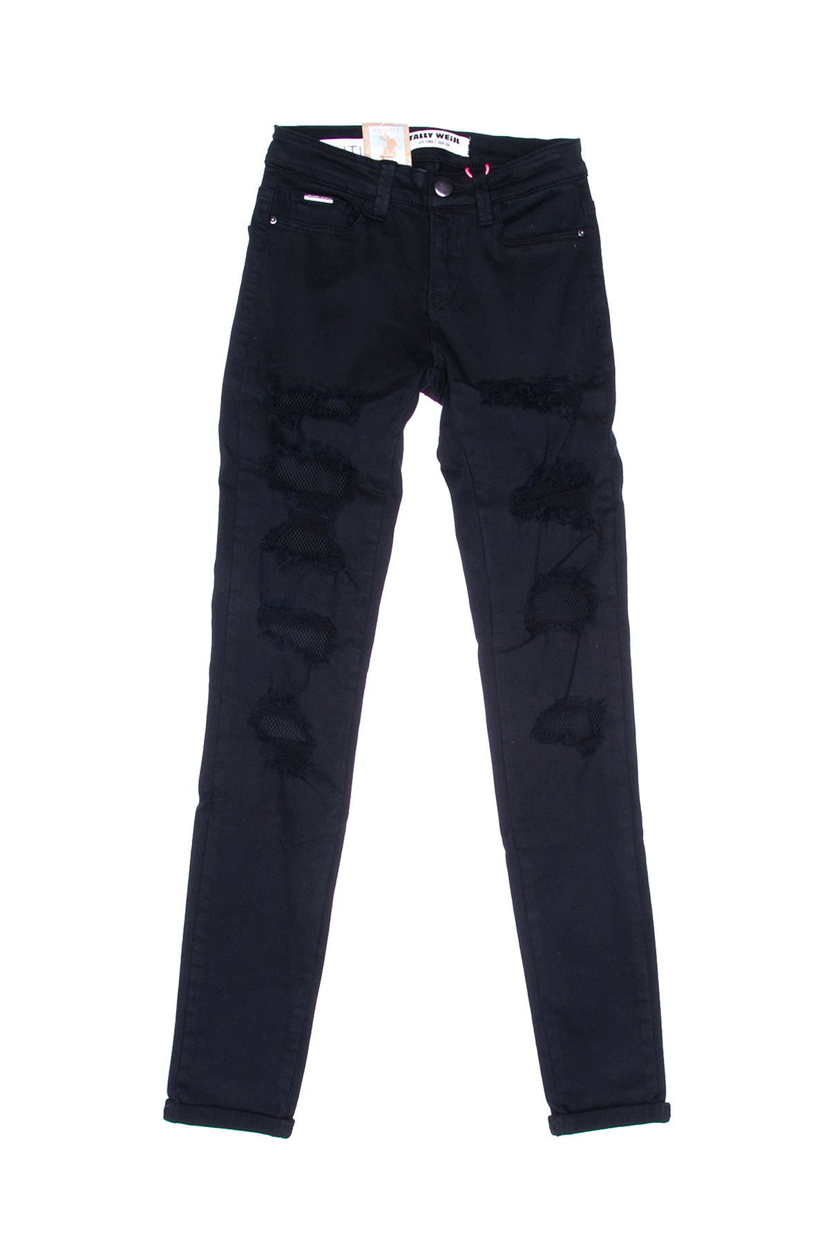Темные джинсы женские