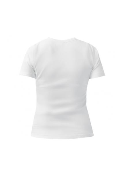 Женская футболка Love you белая