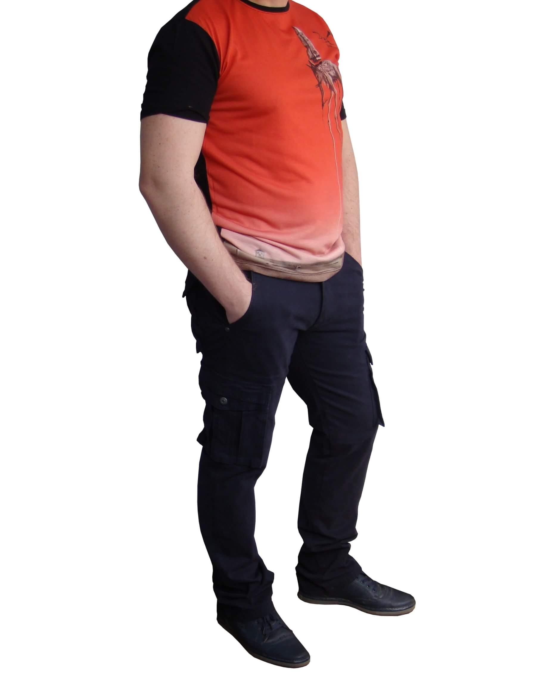 Джинси чоловічі карго ITENA
