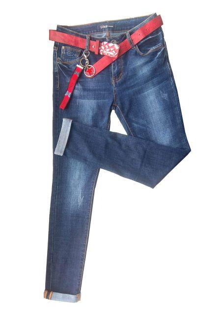 женские узкие джинсы с подкатами